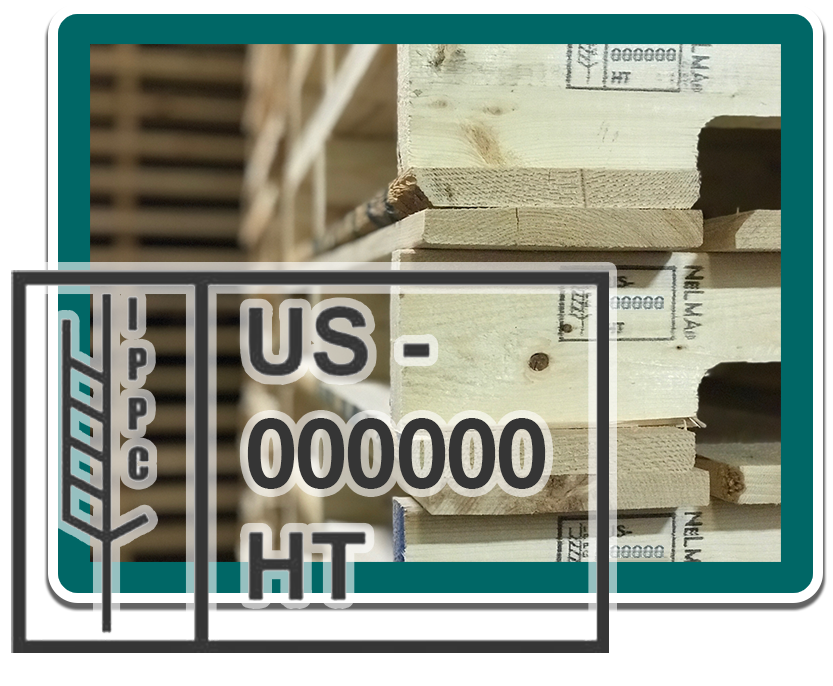 Heat Treated (HT) stamped Pallets